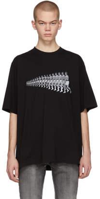 Marcelo Burlon County of Milan Black Muhammed Ali Edition Series T-Shirt