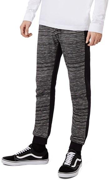 Men's Topman Space Dye Jogger Pants