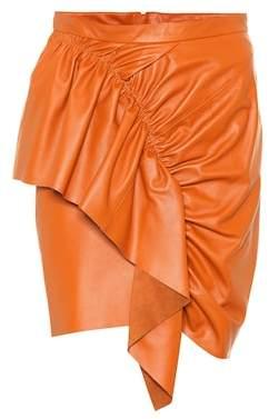 Isabel Marant Nela leather miniskirt