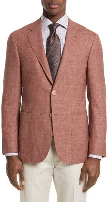 Men's Canali Kei Classic Fit Wool Blend Blazer $1,595 thestylecure.com