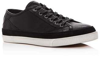John Varvatos Men's Jet Leather Lace Up Sneakers