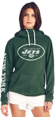 Junk Food Clothing New York Jets Cowl Neck Womens Hoodie