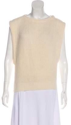 Diane von Furstenberg Cable Knit Tank Top