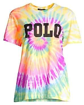Polo Ralph Lauren Women's Big Logo Tie-Dyed Tee