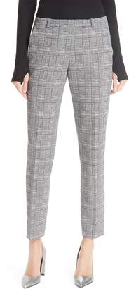 HUGO Harile Check Plaid Trousers