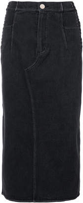 3.1 Phillip Lim Corseted denim skirt