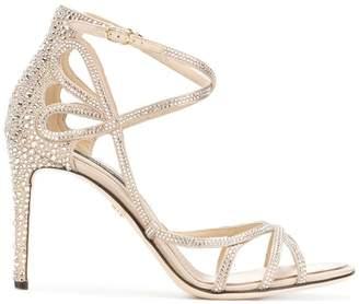 Dolce & Gabbana Keira rhinestone embellished sandals