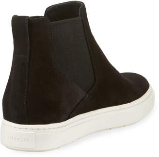 Vince Newlyn Hidden-Wedge High-Top Sneakers