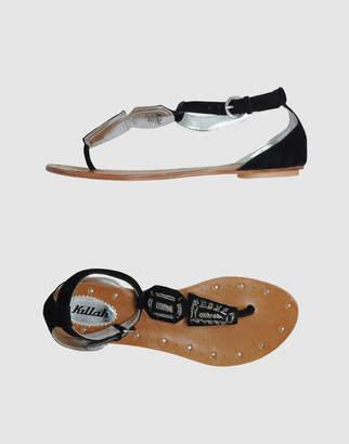 Killah Toe strap sandals