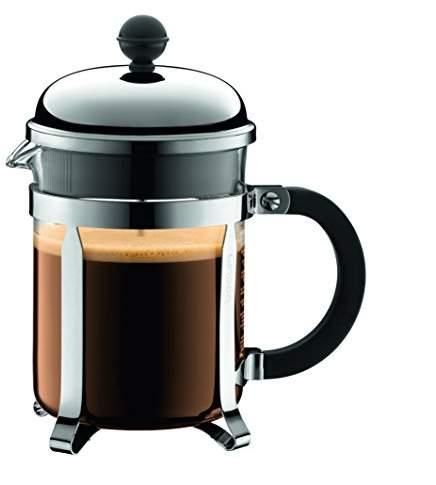 Bodum CHAMBORD Coffee Maker, 0.5 L/17 oz - Shiny