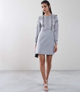 Reiss Karter Ruffle Detail Dress