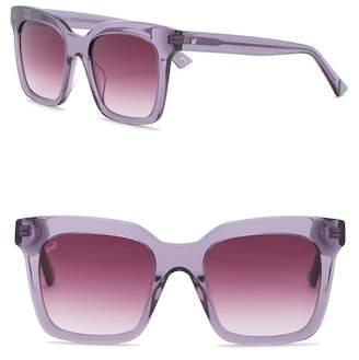 Web WE0222 Square Acetate 49mm Sunglasses
