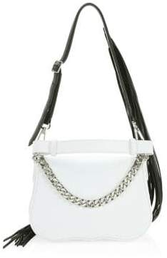 Calvin Klein Small Shoulder Fringe Bag