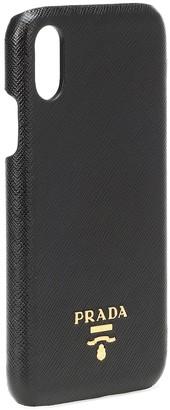 Prada Saffiano leather iPhone case