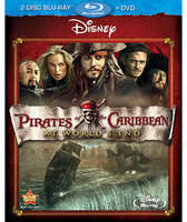 Disney Pirates of the Caribbean: At World's End - 2-Disc Blu-Ray + DVD