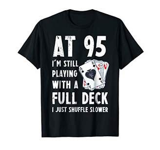Funny 95th Birthday Gift 95 Year Old Cards T-Shirt