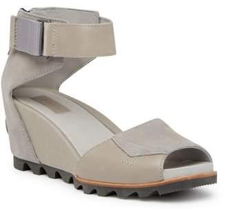 Sorel Joanie Ankle Strap Suede Sandal