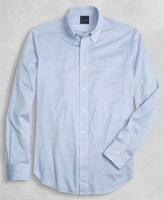 Brooks Brothers Golden Fleece Knit Button-Down Oxford Shirt