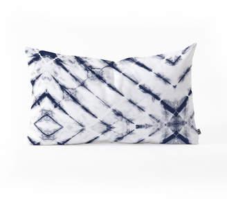 Deny Designs Little Arrow Design Co Shibori Tie Dye Oblong Throw Pillow