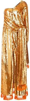Sachin + Babi Chacedony sequin gown