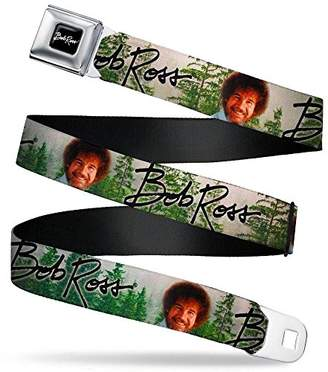 Buckle-Down Men's Seatbelt Belt Bob Ross W L