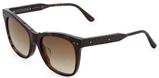 Bottega Veneta 54Mm Square Sunglasses