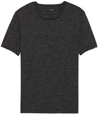 Banana Republic Soft-Wash Raw-Edge Crew-Neck T-Shirt