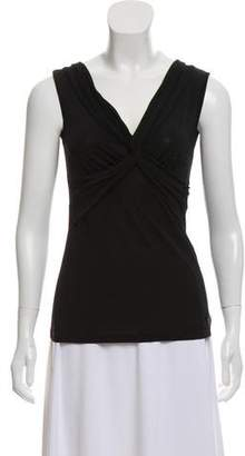 John Galliano Knotted Sleeveless Top