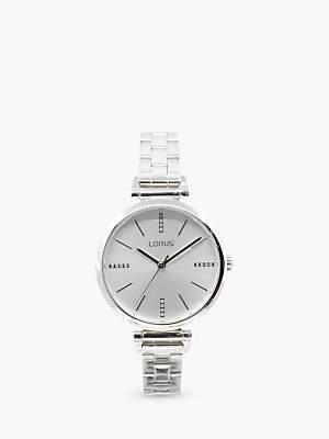 Lorus Women's Crystal Bracelet Strap Watch