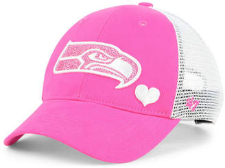 '47 Girls' Seattle Seahawks Sugar Sweet Mesh Adjustable Cap