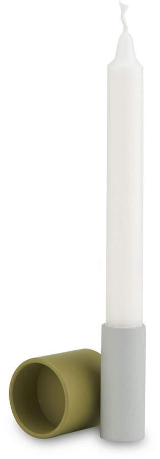 Skagerak - Tube 2in1 Kerzen- und Teelichthalter, Sand / hellgrau