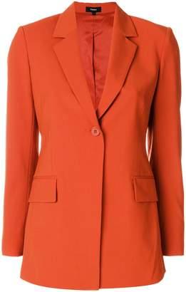 Theory classic single buttoned blazer