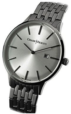 Cesare Paciotti Man 's Watch – ダスティン・ホワイトtsst124