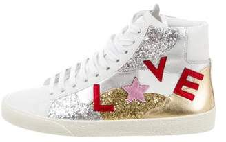 Saint Laurent Court Classic SL/06 Love Sneakers