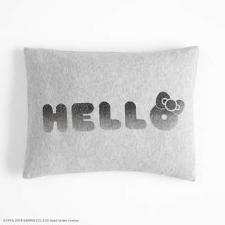Pottery Barn Teen Hello Kitty® Ombre Pillow Cover, 12X16, Gray