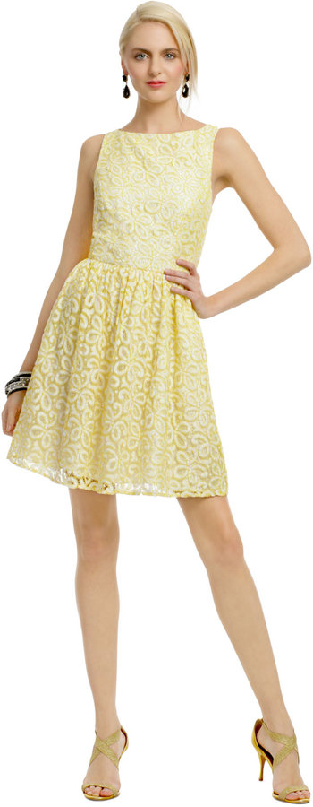 Shoshanna Oh La La Lace Dress