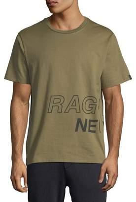 Rag & Bone Men's Wraparound-Graphic T-Shirt