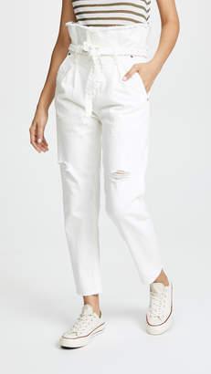 Tortoise Morenia Paper Bag Jeans