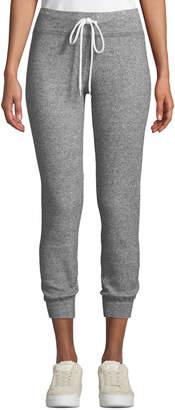 Monrow Thermal Cuffed Drawstring Sweatpants