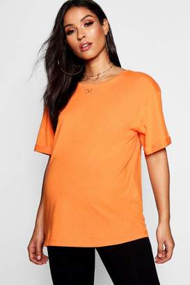 boohoo Maternity Basic T Shirt