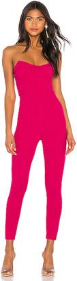 superdown Clarice Strapless Jumpsuit