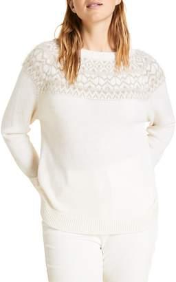 Marina Rinaldi Agenzia Alpaca & Wool Blend Sweater