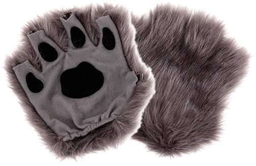 Gray Finger Paws