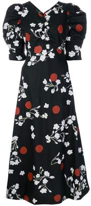Isa Arfen floral print dress