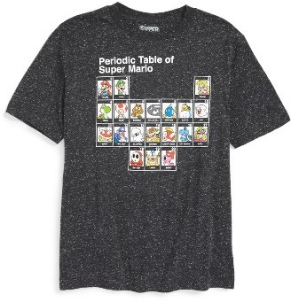 Boy's Jem Periodic Table Of Super Mario Graphic T-Shirt $22 thestylecure.com