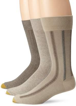 Gold Toe Men's Classic Stripe 3 Pack