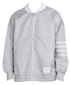 Thom Browne Oversized Back Vent Bomber Jacket