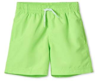 Stella Cove Neon Green Swim Trunks