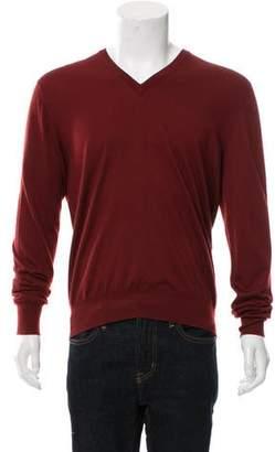 Hermes Cashmere & Silk-Blend Sweater