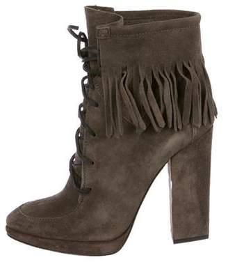 Giuseppe Zanotti Fringe High Heel Boots